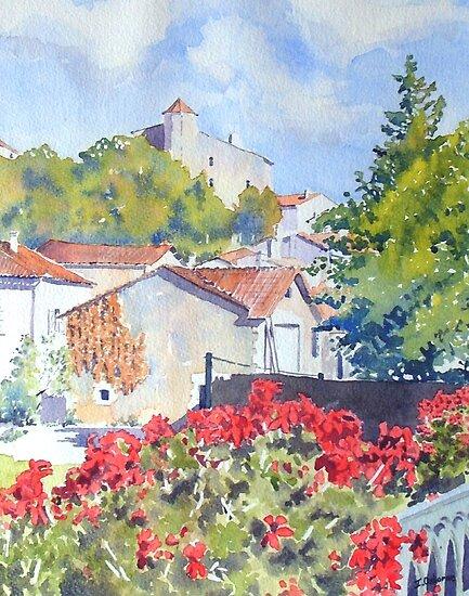 Basse ville, Montbron, France by ian osborne
