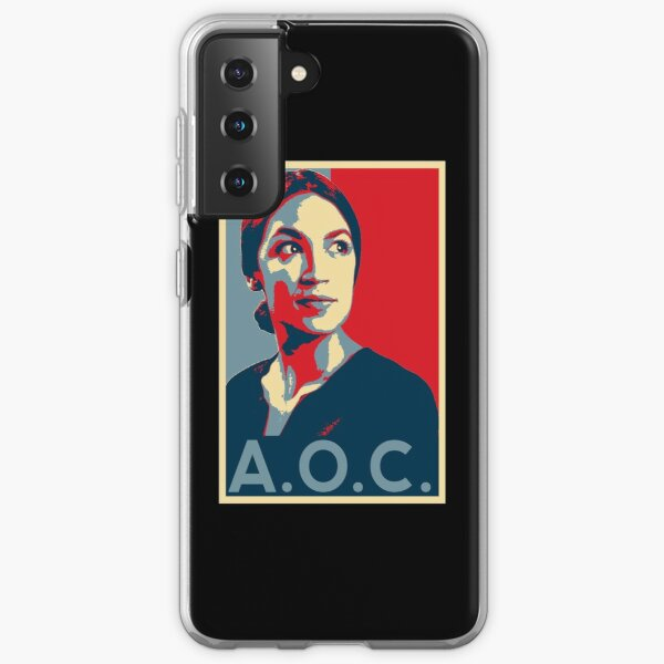 Alexandria Ocasio-Cortez AOC NEW PARTY WHO DIS HOPE Samsung Galaxy Soft Case