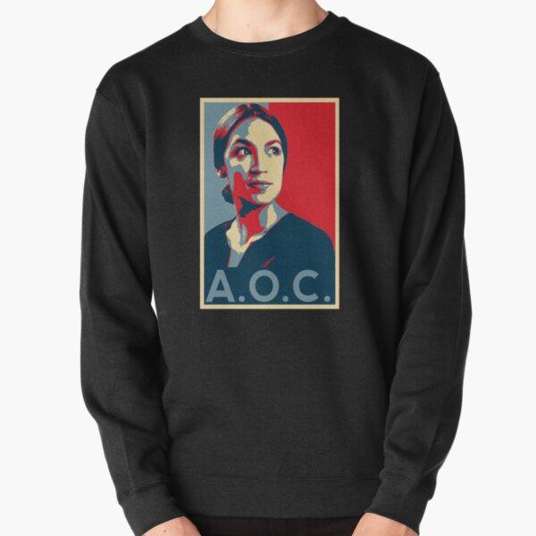 Alexandria Ocasio-Cortez AOC NEW PARTY WHO DIS HOPE Pullover Sweatshirt