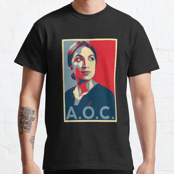 Alexandria Ocasio-Cortez AOC NEW PARTY WHO DIS HOPE Classic T-Shirt