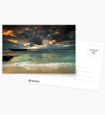 The glow - above and below Postcards