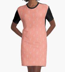 Ice Cream Cone Graphic T-Shirt Dress