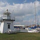 Port Clinton Lighthouse by Monnie Ryan