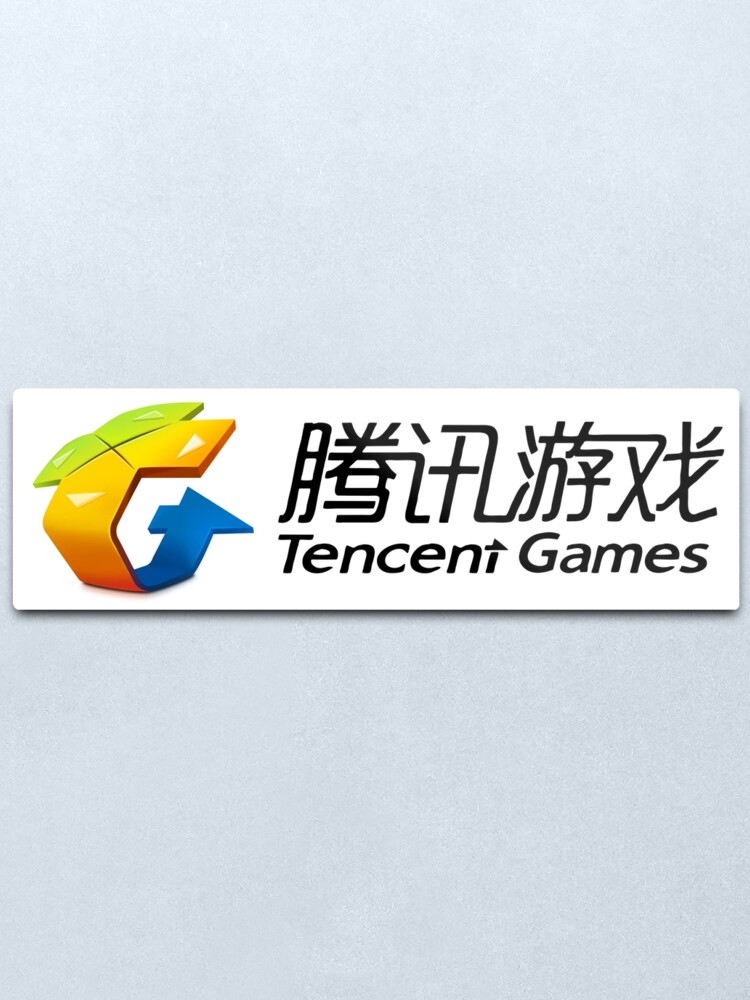 tencent games logo metal print by fbsarts redbubble redbubble