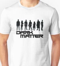 dark matter - black Unisex T-Shirt