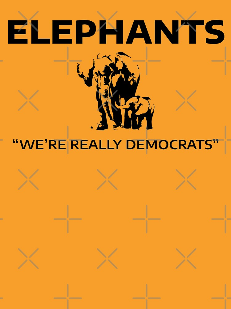 Elephants: We're Really Democrats by willpate