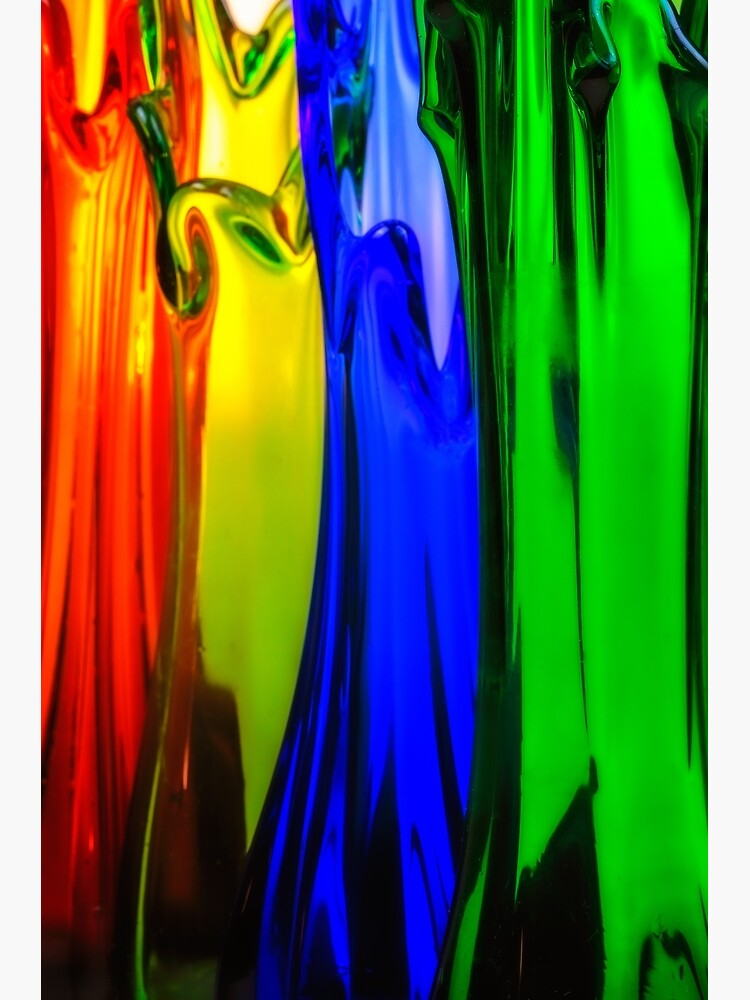colorfull Art Glass vases by fardad