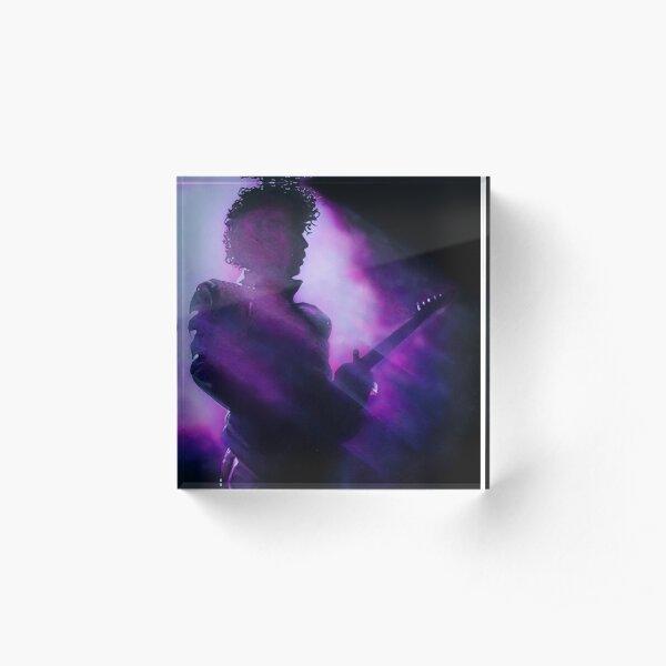 Purple Acrylic Block