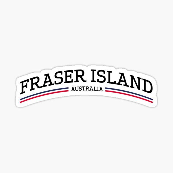 Fraser Island Australia Sticker
