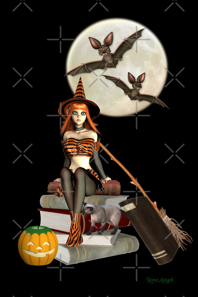 Halloween Witch by LoneAngel