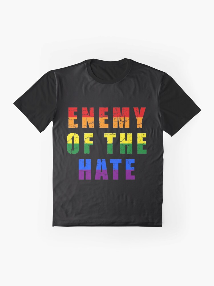 Alternate view of Enemy of the Hate Graphic T-Shirt