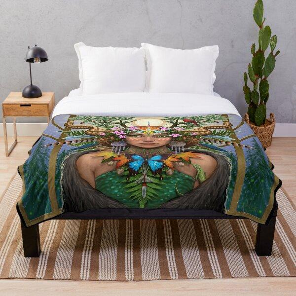 Divine Gaia Throw Blanket