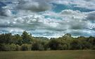 Golfcourse Cloudscape by Aaron Campbell