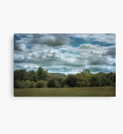 Golfcourse Cloudscape Canvas Print