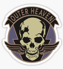 Metal Gear Solid - Outer Heaven (Alternate coloring) Sticker