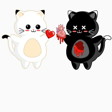 Kawaii Kitty Valentine Exchange by BeataViscera