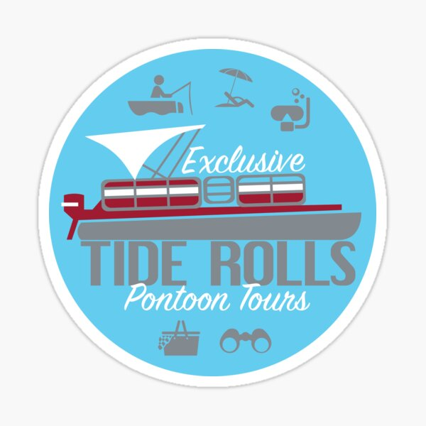 The Tide Rolls Sticker