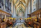 Cathedral Aisle by Adrian Evans