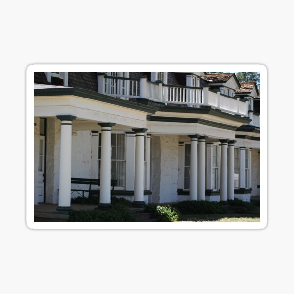 Commanding Officers Quarters at Fort Stanton New Mexico Sticker