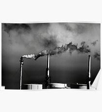 Smokestack San Francisco Bay Area Poster