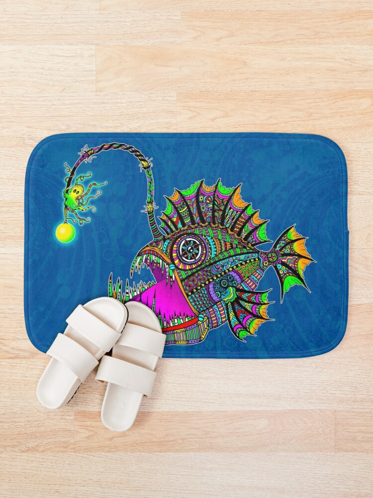 Alternate view of Electric Angler Fish Bath Mat