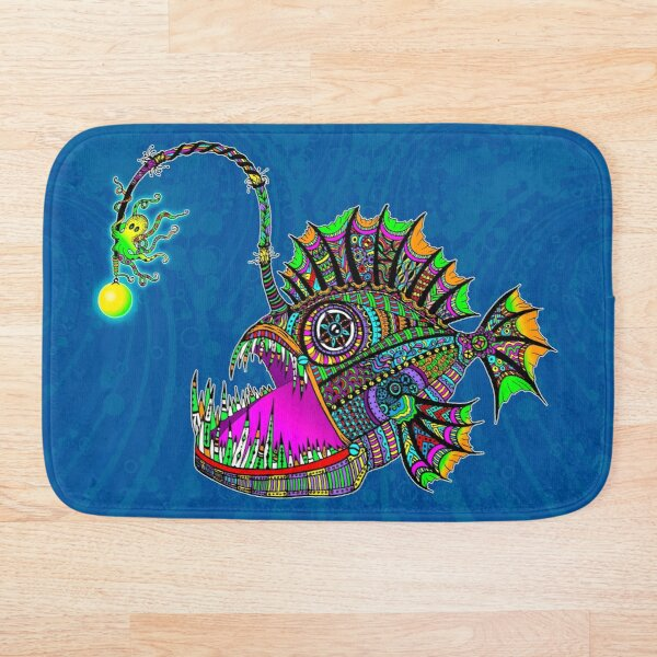 Electric Angler Fish Bath Mat