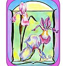 ART DECO FLOWERS by Judy Mastrangelo