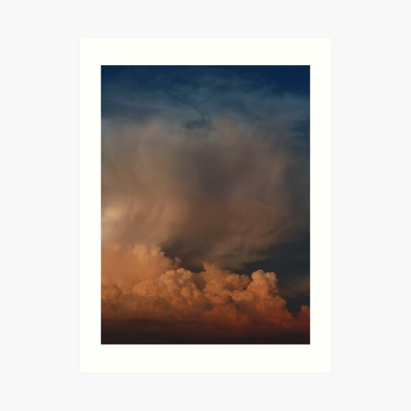 Ominous Clouds Art Print