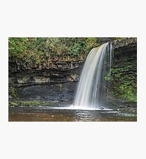 Sgwd Gwladys Waterfall Vale of Neath Photographic Print