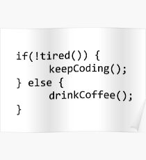 Keep coding Poster