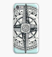 sun compass iPhone Case/Skin