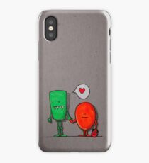Love monsters iPhone Case/Skin