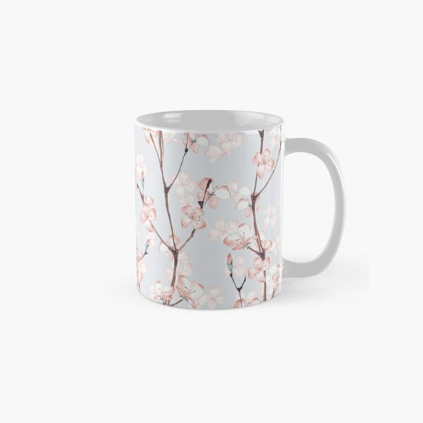 Blossom. Watercolor seamless floral pattern Classic Mug