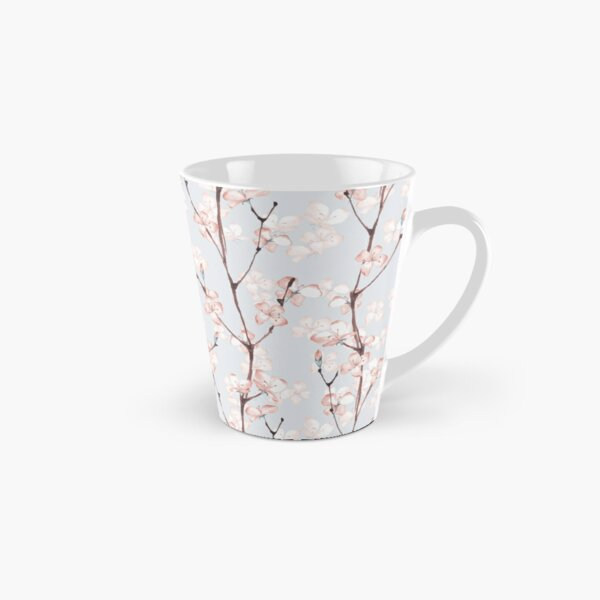 Blossom. Watercolor seamless floral pattern Tall Mug