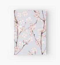 Blühen. Aquarell nahtlose Blumenmuster Notizbuch