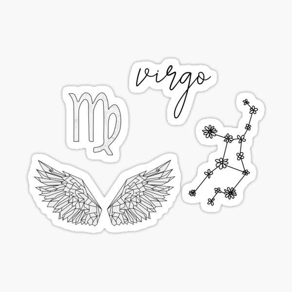 Virgo Sticker Pack Sticker