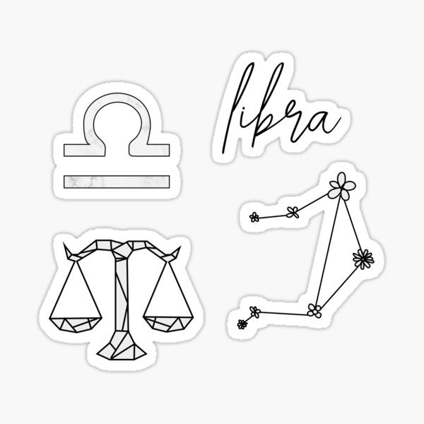 Libra Sticker Pack Sticker