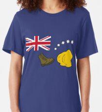 New Australia Flag Slim Fit T-Shirt