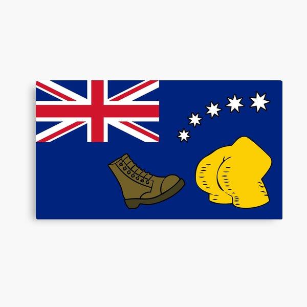 New Australia Flag Canvas Print