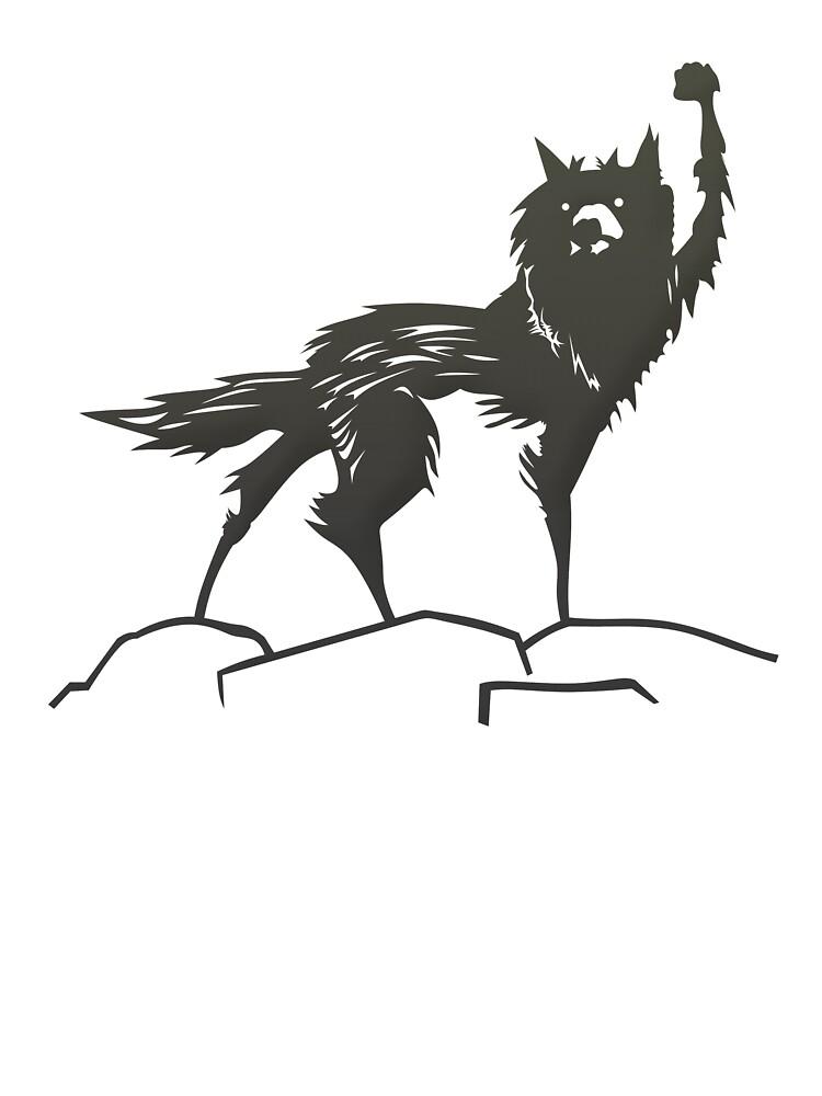 Fantastic Mr Fox Wolf Kids T Shirt By Oblongrainbow Redbubble