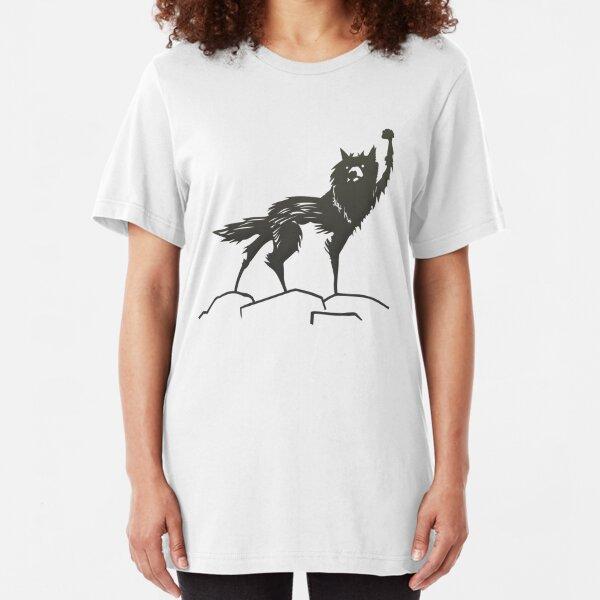 Fantastic Mr Fox Wolf Slim Fit T-Shirt
