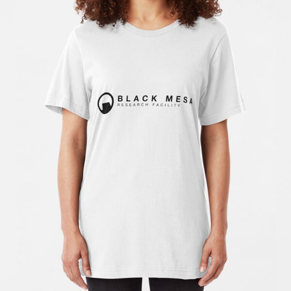 Black Mesa Research Facility Slim Fit T-Shirt