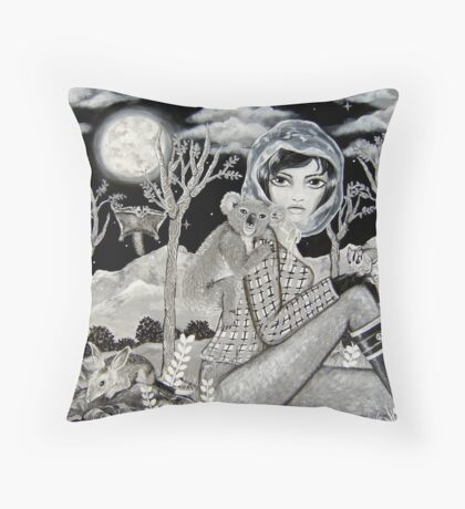 Nocturnal Throw Pillow