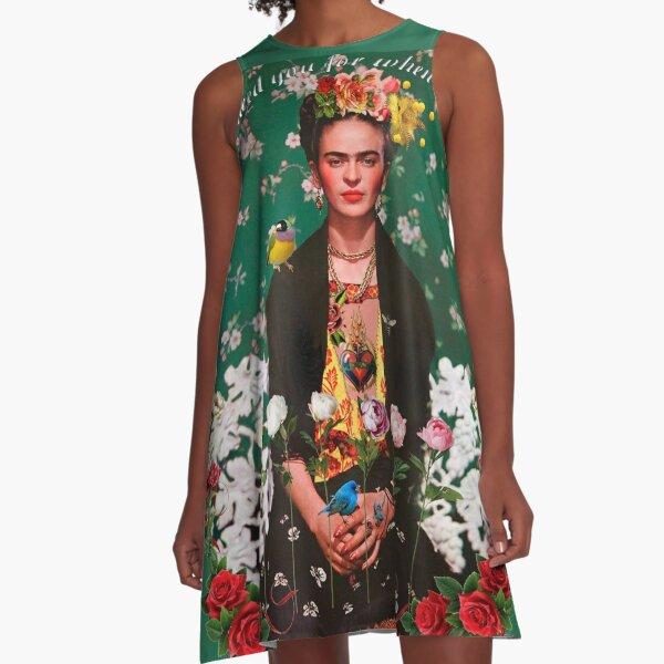 Ailes pour voler Frida Kahlo Robe trapèze
