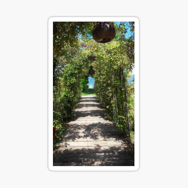 Green Tunnel to Sapanca Sticker
