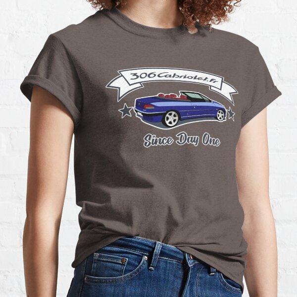Since Day One -  Bleu de Chine / Amarante T-shirt classique