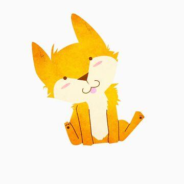 Happy Fox by TEALfoxy