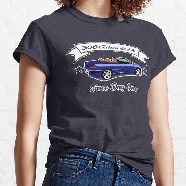 Since Day One -  Bleu de Chine / Abricot T-shirt classique