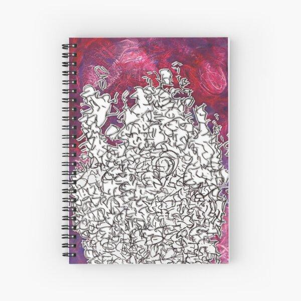 mixed meds experiment Spiral Notebook
