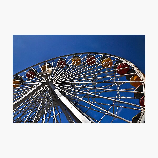 """"""" First love on a Ferris Wheel """" Photographic Print"""